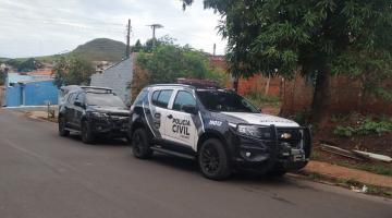 Polícia Civil cumpre mandados durante