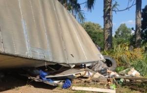 Caminhoneiro morre em acidente na PR-090 próximo a Ventania