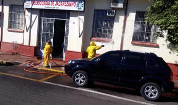 Sanepar faz nova desinfecção de hospital em Jacarezinho