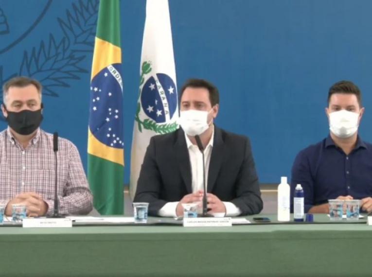 Paraná confirma lockdown por dez dias e amplia horário de toque de recolher