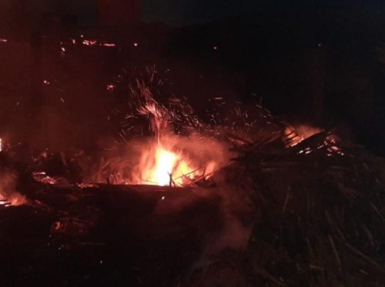 Incêndio atinge olaria em Ibaiti