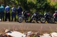 Operação da PM apreende motocicletas em Siqueira Campos