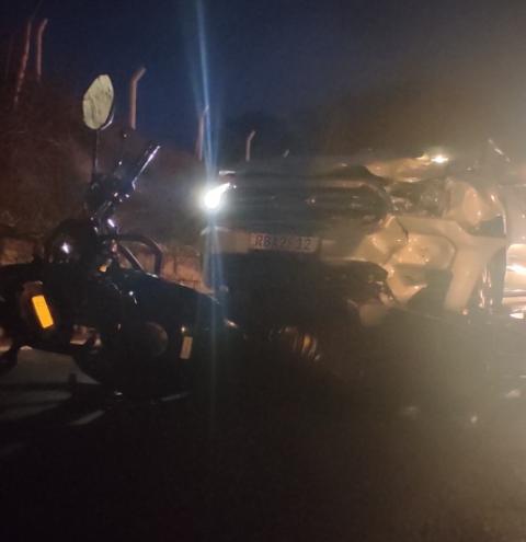 Acidente deixa motoqueiro morto na BR-153 em Jacarezinho