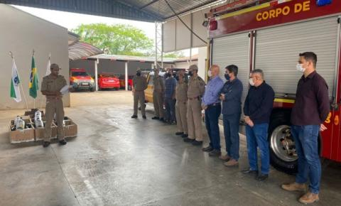 Novos equipamentos reforçam atuação do Corpo de Bombeiros em Santo Antônio da Platina