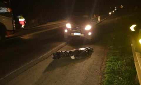 Rapaz morre atropelado por caminhonete na BR-153