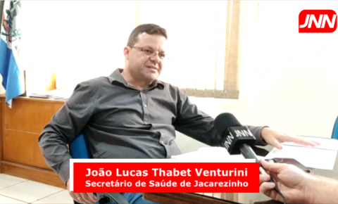Secretário de saúde comenta sobre vacinação em Jacarezinho