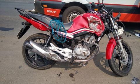 Rodado de carreta se desprende e atinge motociclista na PR-092