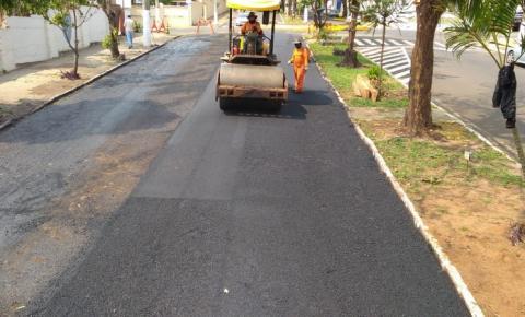 Prefeitura finaliza trabalhos e libera avenida Manoel Ribas em Jacarezinho
