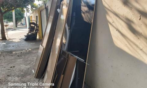OURINHOS -  Operação Cidade Limpa retira 24 toneladas na Jd. das Paineiras e São Judas Tadeu