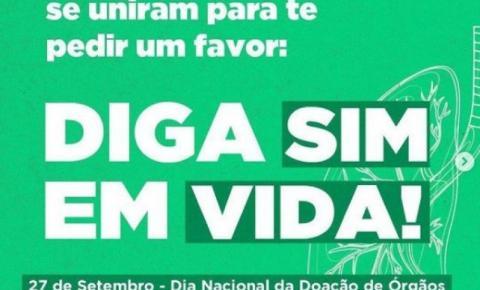 Idealizada por Maringá, campanha de doação de órgãos une Prefeituras do Paraná