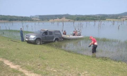 Bombeiros procuram por taguaiense que desapareceu na Represa de Chavantes