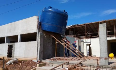 Obras do novo Hospital Municipal de Ibaiti segue em ritmo acelerado