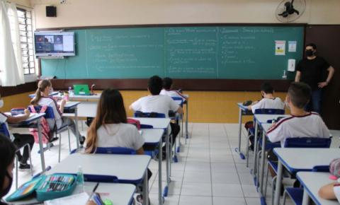 Escolas da rede estadual têm média de 62,3% de alunos em ensino presencial