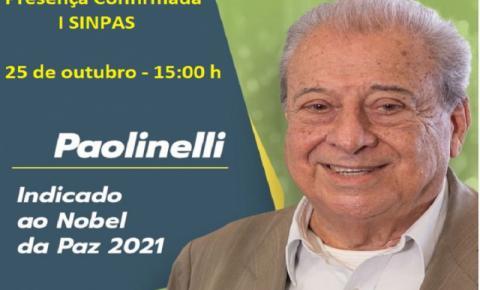 UENP recebe ex Ministro da Agricultura indicado ao Premio Nobel de 2021, Allyson Paolinelli