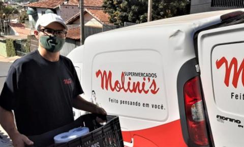 Molini's Supermercado cria site para compras sem sair de casa