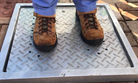 UENP desenvolve protótipo para higienização de calçados