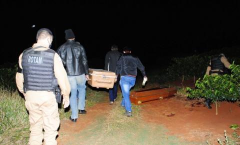 Jovens são executados a tiros na zona rural de Santo Antônio da Platina