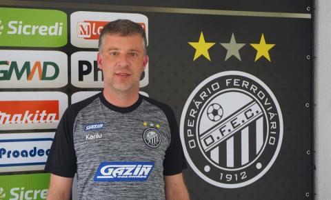 Operário apresenta gerente de futebol Daniel Kaminski
