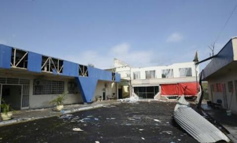 UENP sofre danos estruturais causados pela tempestade