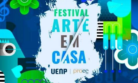 UENP inicia hoje Festival Arte em Casa com apresentações online