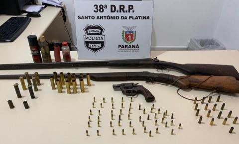 Polícia Civil retira armas de fogo e munições de circulação