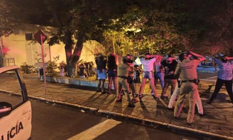PM realiza operação no final de semana em Jacarezinho