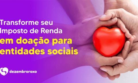 Segunda edição da campanha Dezembro Roxo pode levantar R$ 1,2 milhões para crianças, adolescentes e idosos de Jacarezinho