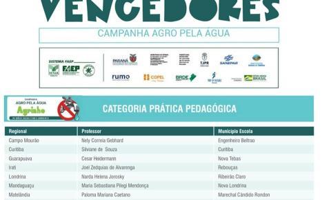 Ribeirão Claro é destaque no Programa Agrinho 2020