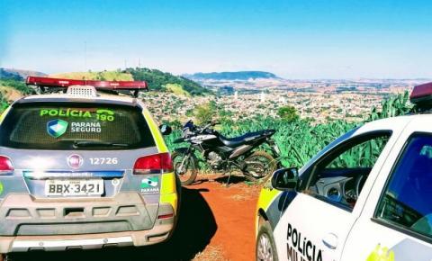 PM recupera moto roubada de entregador de lanches