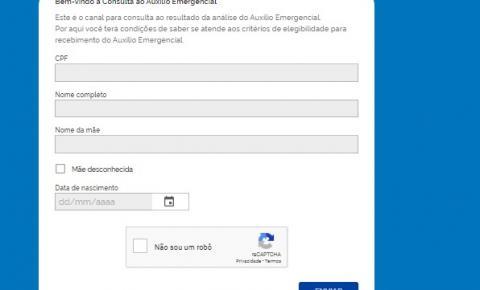 Governo disponibiliza mais dois canais para consulta do Auxílio Emergencial