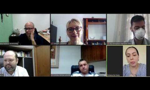 PROEC participa de reunião do Plano Perícias Previdenciárias Jacarezinho 2021