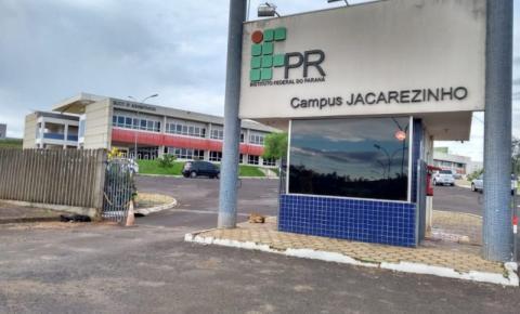 IFPR Jacarezinho tem inscrições abertas para cursos técnicos