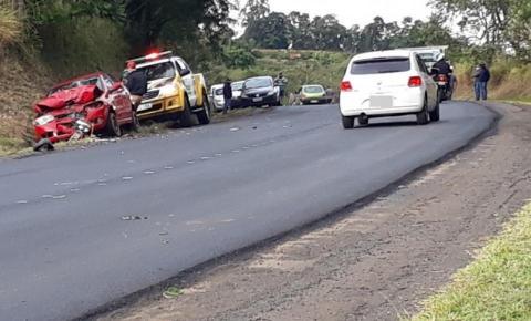 Jovem de 19 anos morre em acidente na PR-272 entre Japira e Pinhalão
