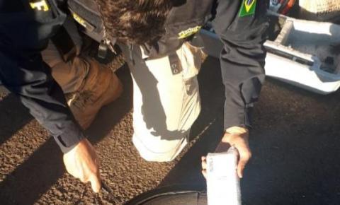 PRF apreende em Jacarezinho diversos celulares contrabandeados