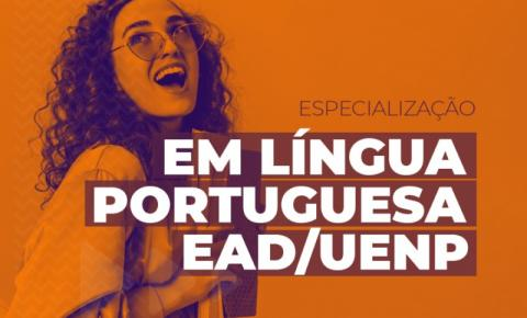UENP abre inscrições para especialização EAD em Ensino da Língua Portuguesa