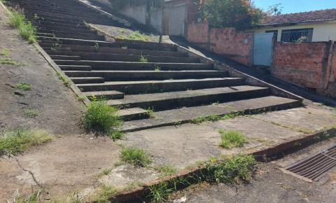 Betão da Curva pede restauração em 'Escadão' na Vila Setti