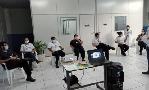 CISNORPI realiza treinamento com funcionários do setor da limpeza