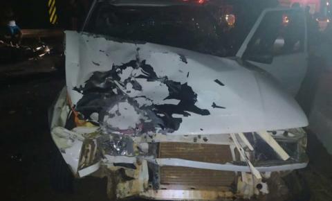 Motociclista morre e passageira fica gravemente ferida em acidente na PR-218