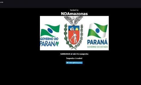 Sites do Governo do Paraná voltam ao ar após pichação digital