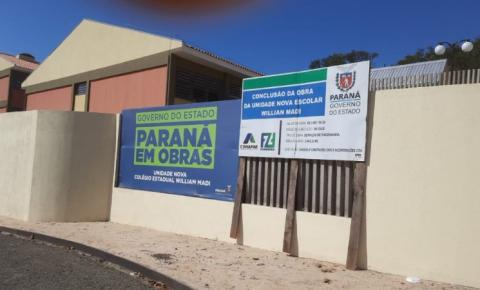 Sete cidades do Norte Pioneiro recebem 'novos colégios estaduais'
