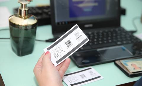 Governo faz novo carregamento de valores no Cartão Comida Boa