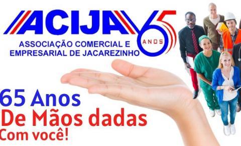 ACIJA completa 65 anos de apoio ao comércio de Jacarezinho
