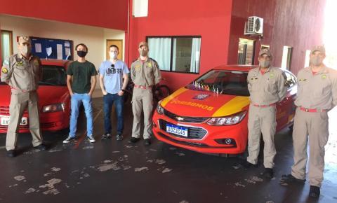 IFPR doa protetores faciais para Corpo de Bombeiros e Depen em Jacarezinho