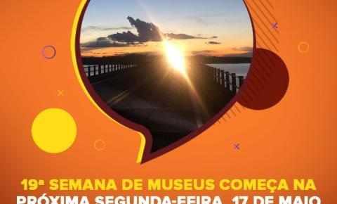 19ª Semana de Museus começa na próxima segunda-feira, 17 de maio em Fartura