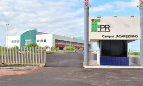 Processo Seletivo para os cursos superiores do IFPR está com inscrições abertas no campus Jacarezinho