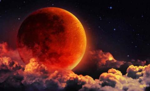 Super Lua de Sangue e Eclipse total no mesmo dia esta semana