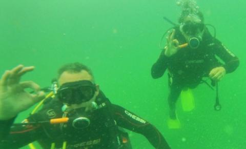 Mergulho recreativo em águas doces tem grande potencial no Norte Pioneiro