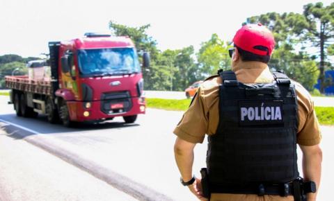 Polícia Rodoviária intensifica fiscalização nas estradas estaduais durante o feriado