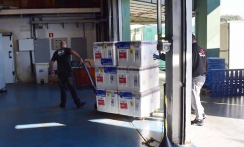Paraná recebe mais 360.250 doses da vacina AstraZeneca contra a Covid-19