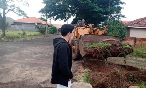 Serginho Marques pede informações sobre animais abandonados